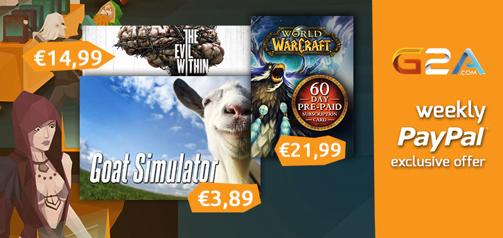 Weekly Sale on G2A