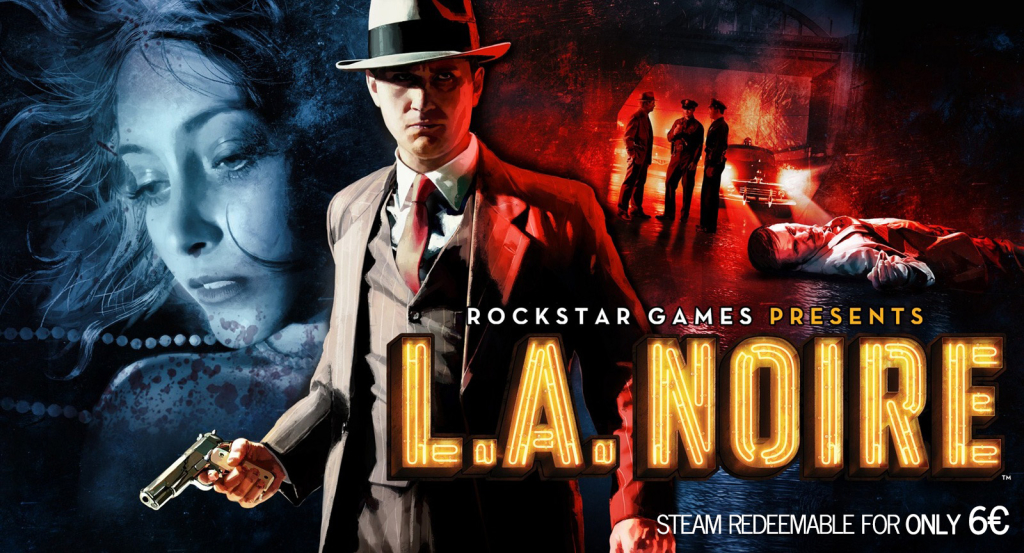 LA Noire Complete Edition Cheap Steam Redeemable