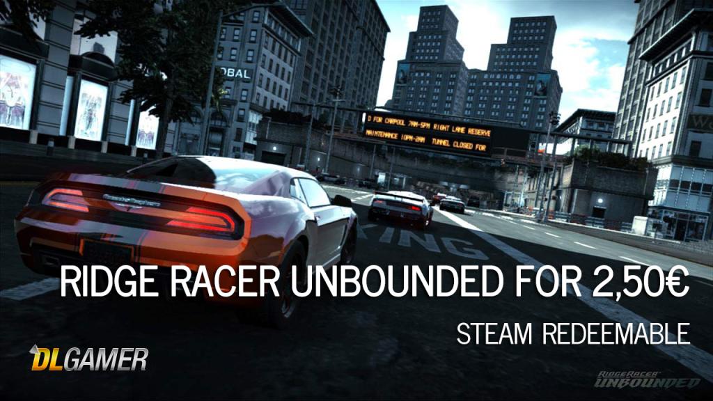 Ridge Race Unbounded Deal DLGAMER
