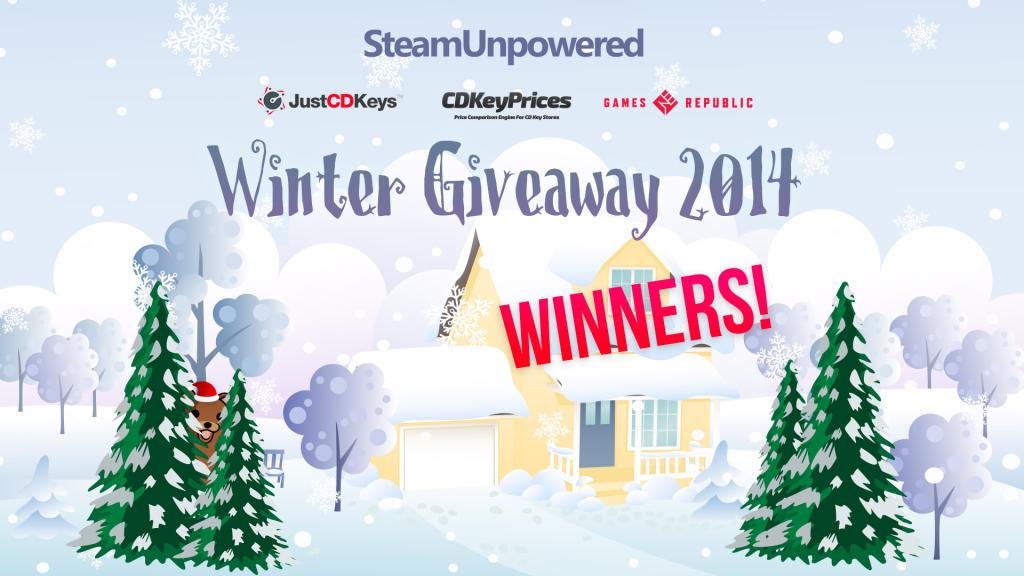 Winners Giveaway Winter