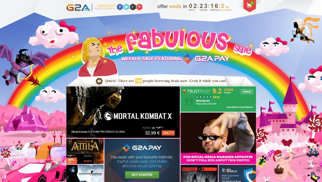 The Fabulous Sale G2A