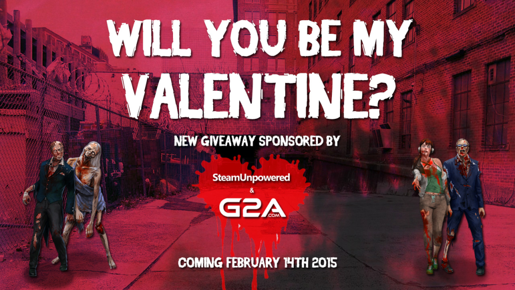 Will You Be My Valentine 2015 G2A SteamUnpowered