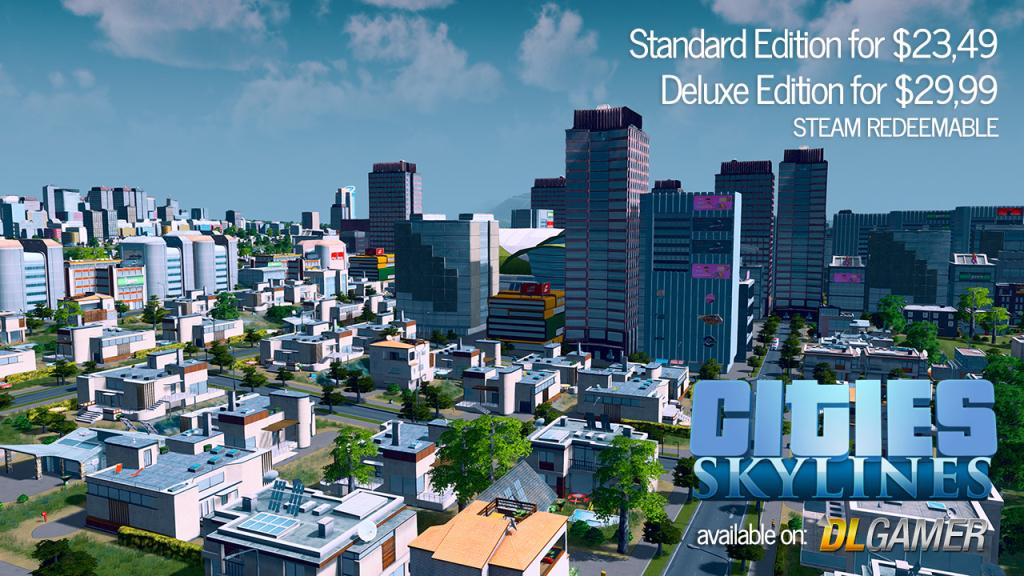 Cities Skylines on DLGamer