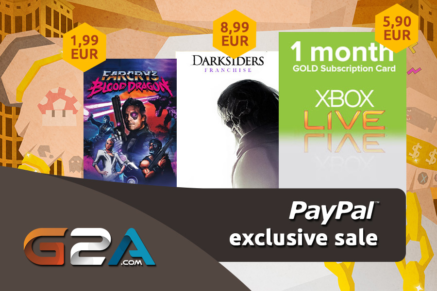 PayPal Exclusive Sale G2A