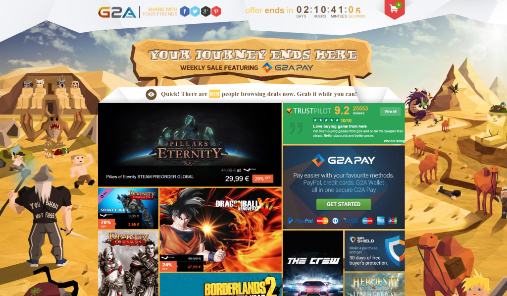 Weekly Sale G2A March 7 2015