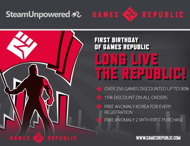Games Republic BIRTHDAY
