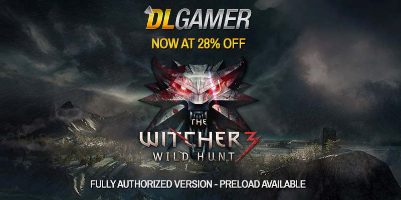 DLGAMER THE WITCHER 3 DEAL