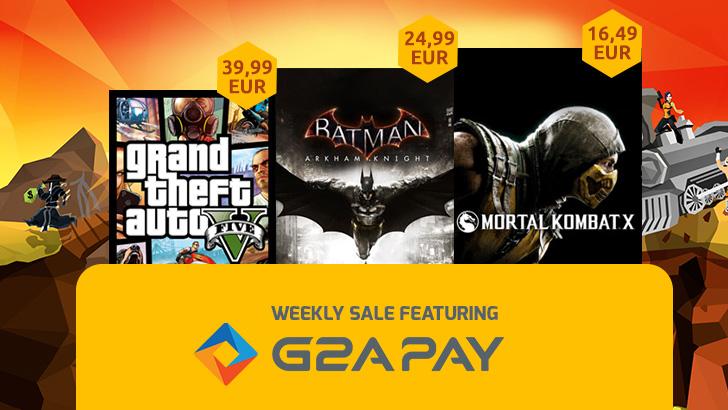 GTA V BATMAN ARKHAM KNIGHT MORTAL KOMBAT X DEAL