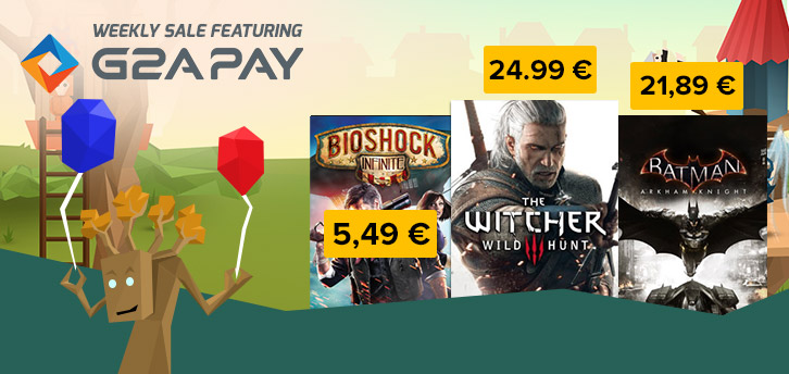 New G2A sale 29 May 2015