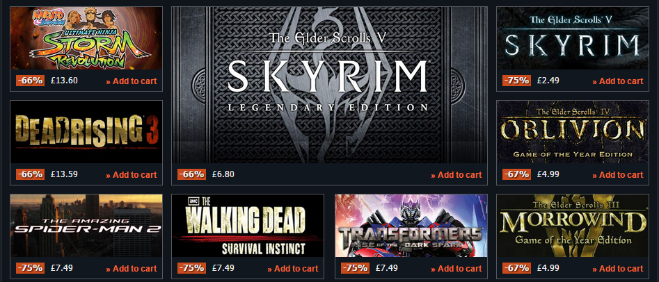 Skyrim cheap deals