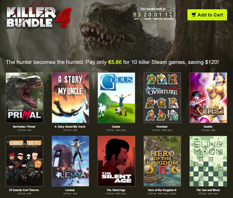 Bundle Stars Killer Bundle 4