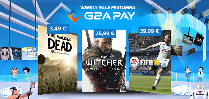 G2A Weekly Sale, featuring FIFA 16!