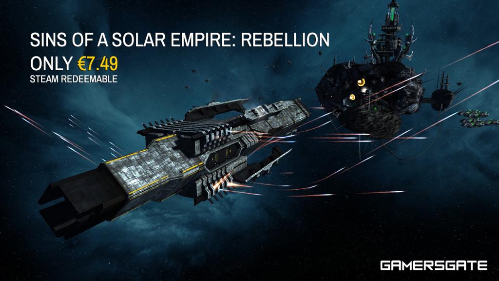Sins of Solar Empire Rebellion Steam Redeemable Deal GamersGate