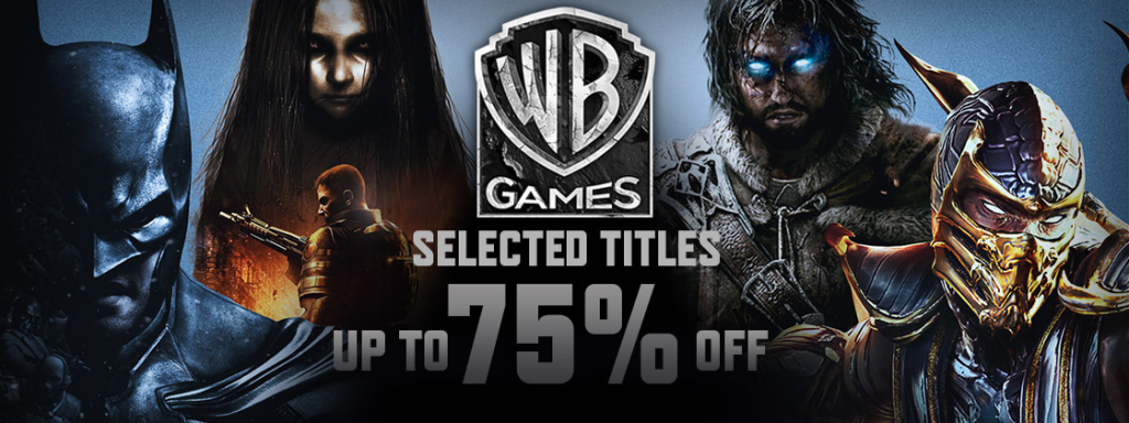 WB Games on sale