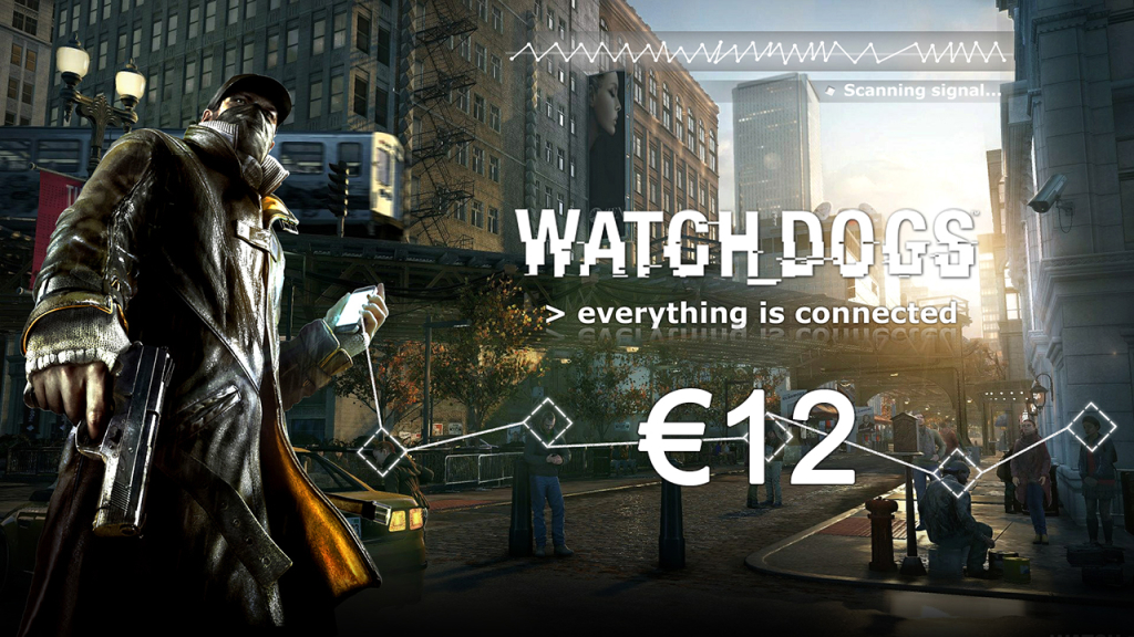 Watch_Dogs on sale