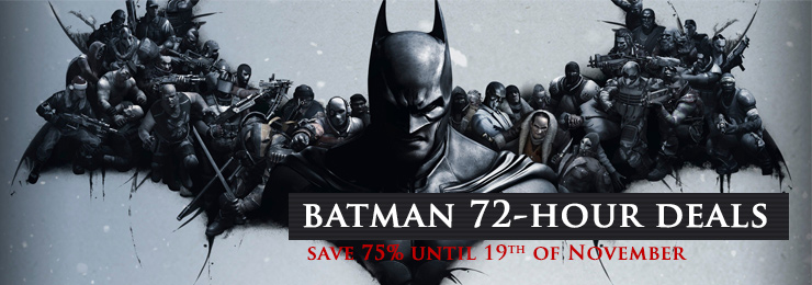 Batman Games on sale on GamersGate!