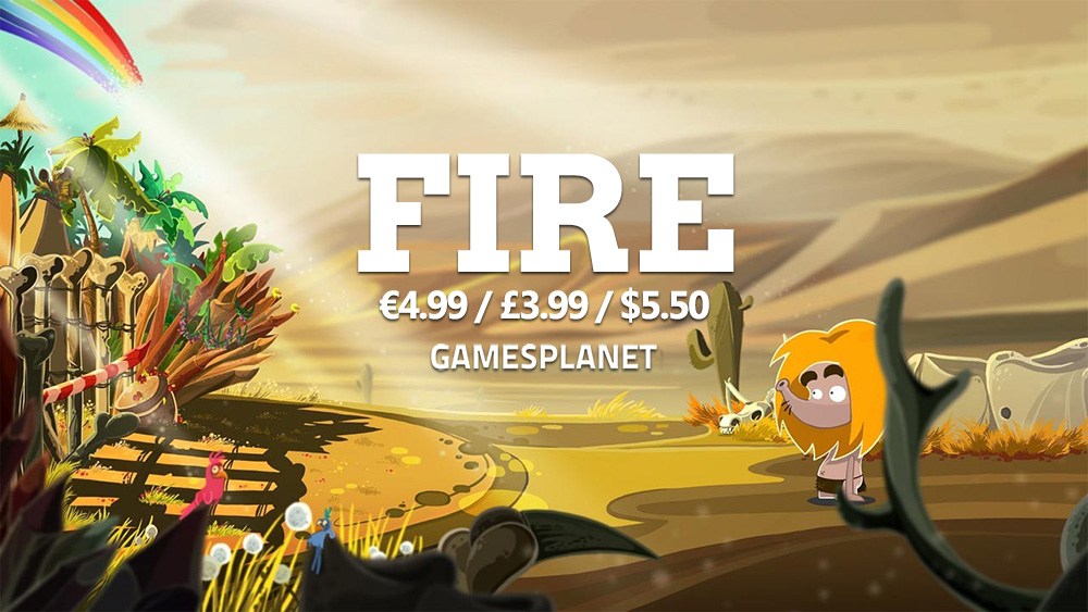 Fire on sale on GamesPlanet