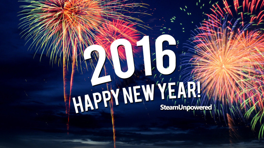 Happy New Year from SteamUnpowered