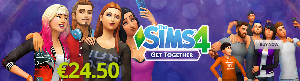 The Sims 4 Get Together PNG