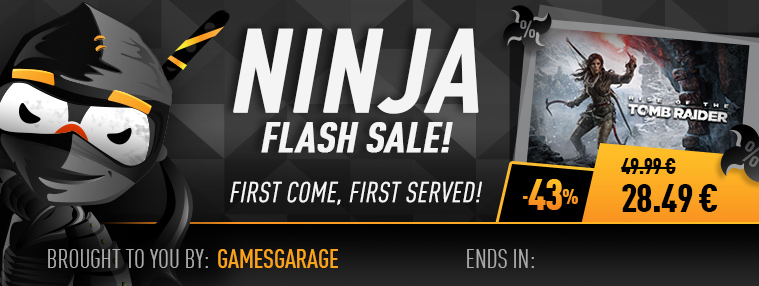 Ninja Flash Sale