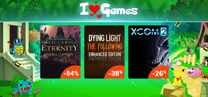 I LOVE GAMES SALE G2A