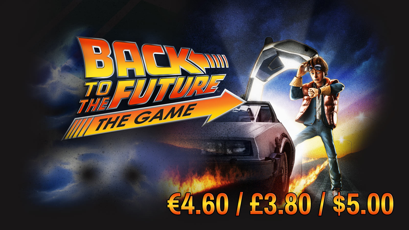 BACK TO THE FUTURE GAME SALE