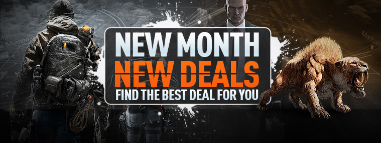 New Month New Deals