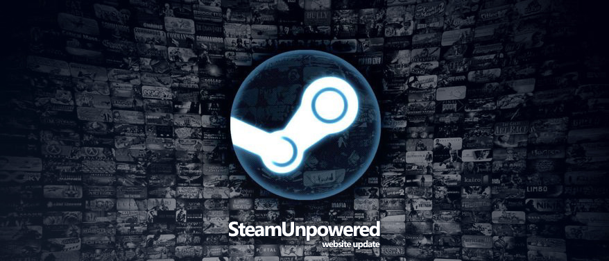 Steam Unpowered Website Update