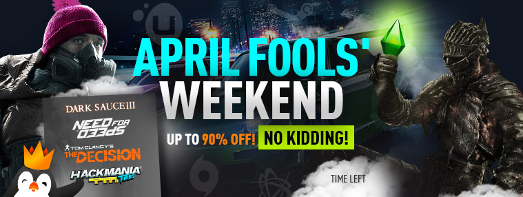 April Fools' Weekend