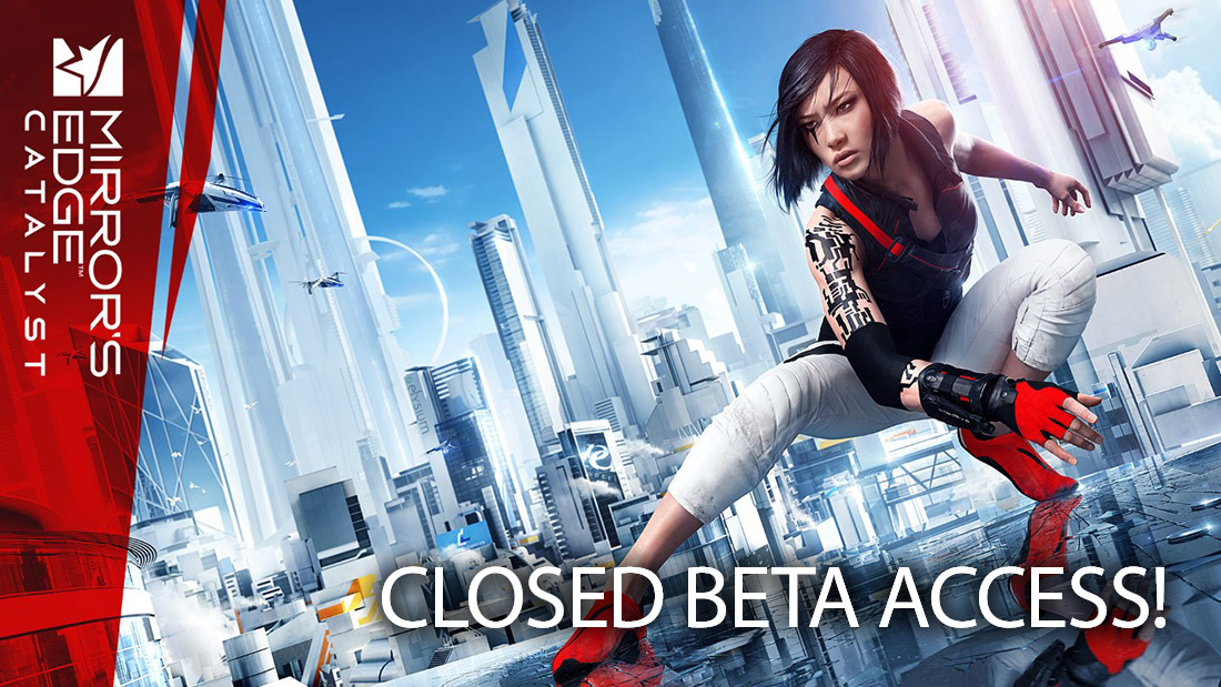 Beta Key Invite Mirror's Edge Catalyst