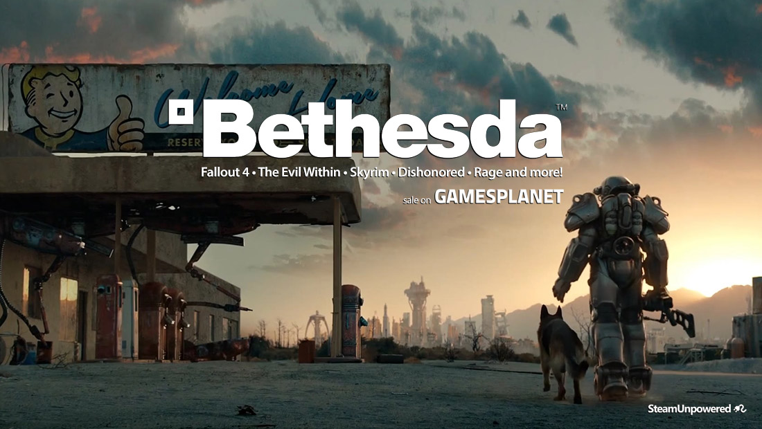 Bethesda Sale GamesPlanet SteamUnpowered