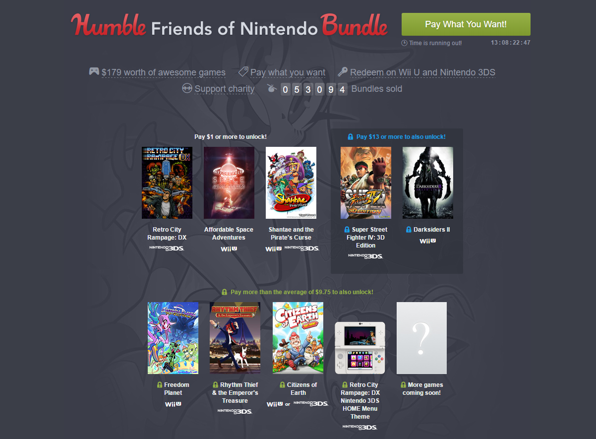 humble bundle archives steam unpowered