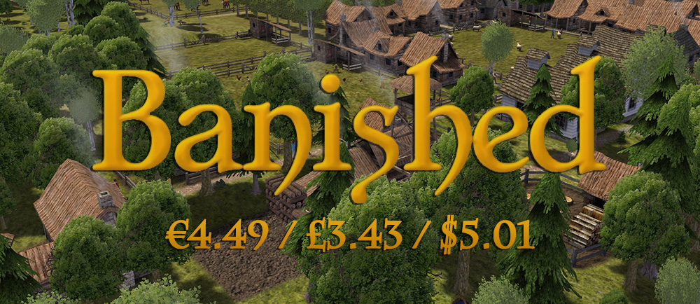 Banished Sale SteamUnpowered