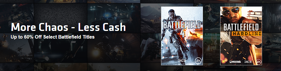 Battlefield games are now on sale on Origin + FREE DLCs!