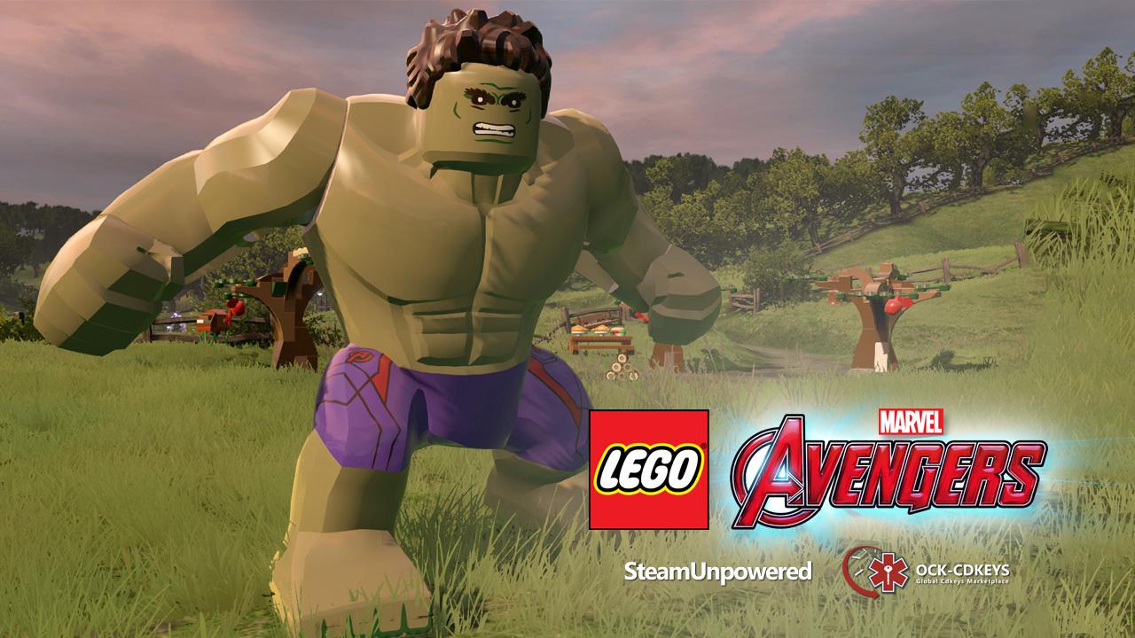 Giveaway Marvel Lego