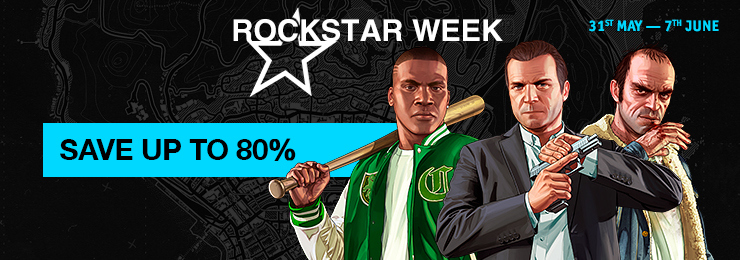 Rockstar Week on GamersGate