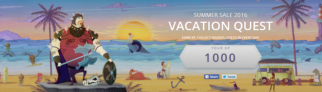Summer Sale on GOG, Vacation Quests and free games!