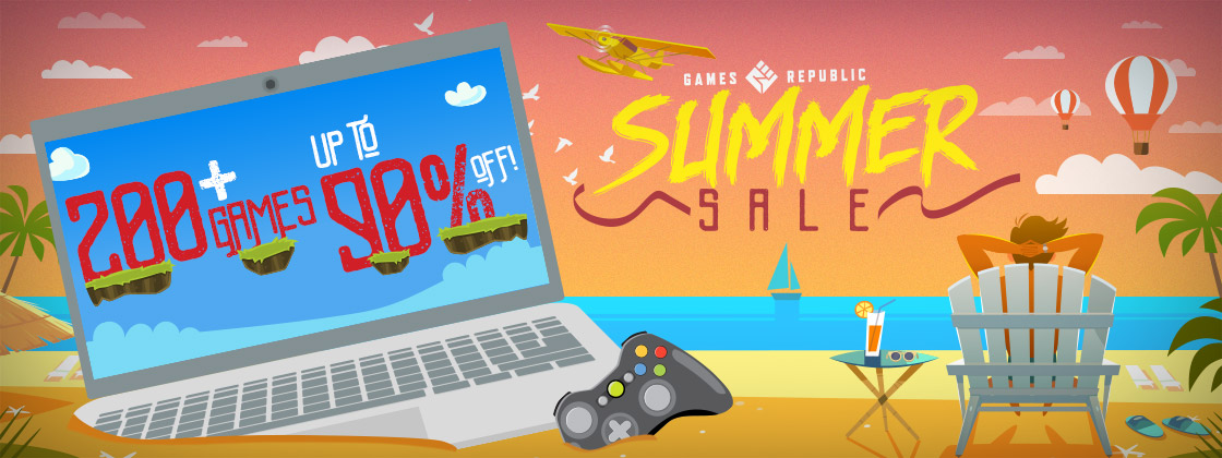 Summer Sale on Games Republic
