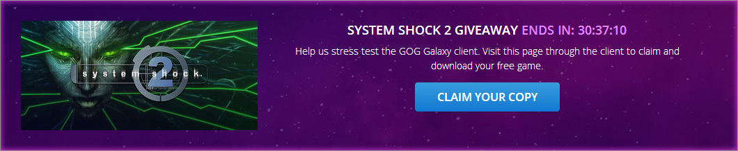 System Shock 2 FREE on GOG