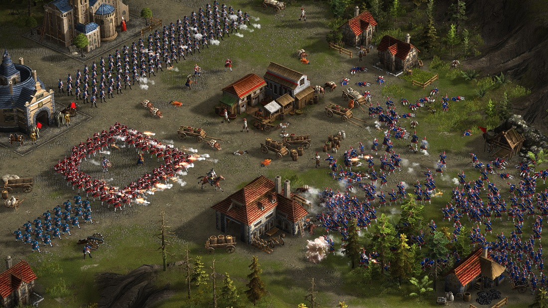 Screenshot from upcoming Cossacks 3 game!