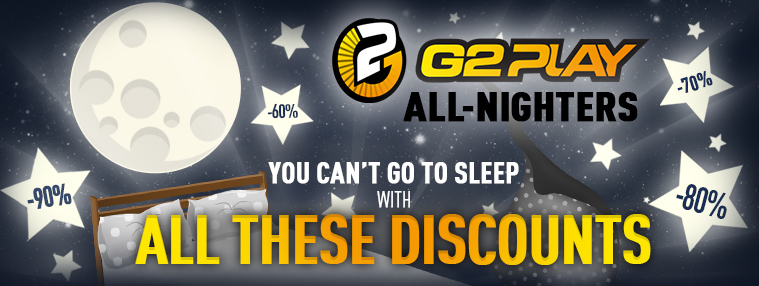 G2Play All-Nighters