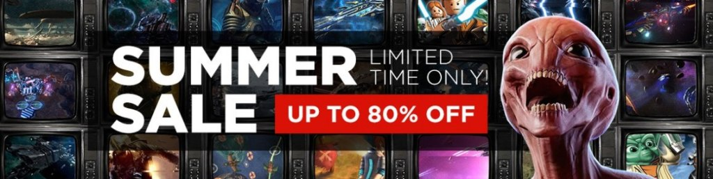 GMG Summer Sale 2016