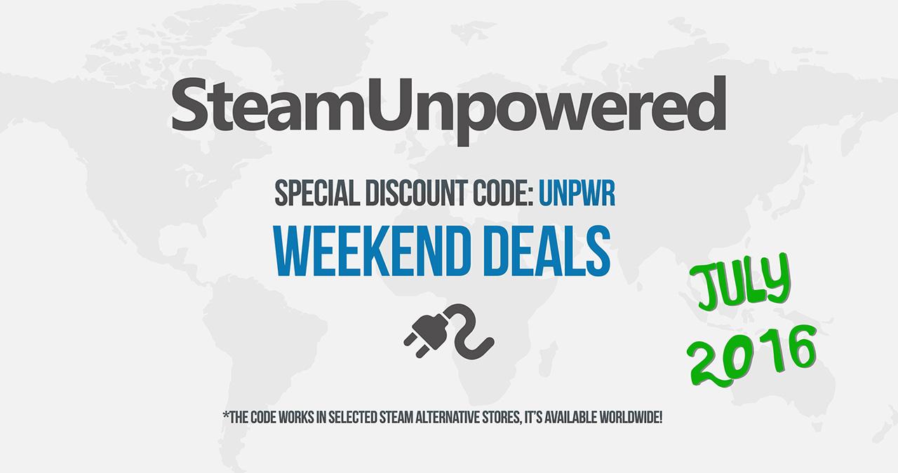 SteamUnpowered Weekend Deals 2016 July