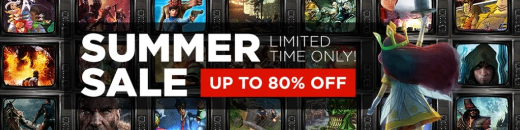 Summer Sale continues on GMG!