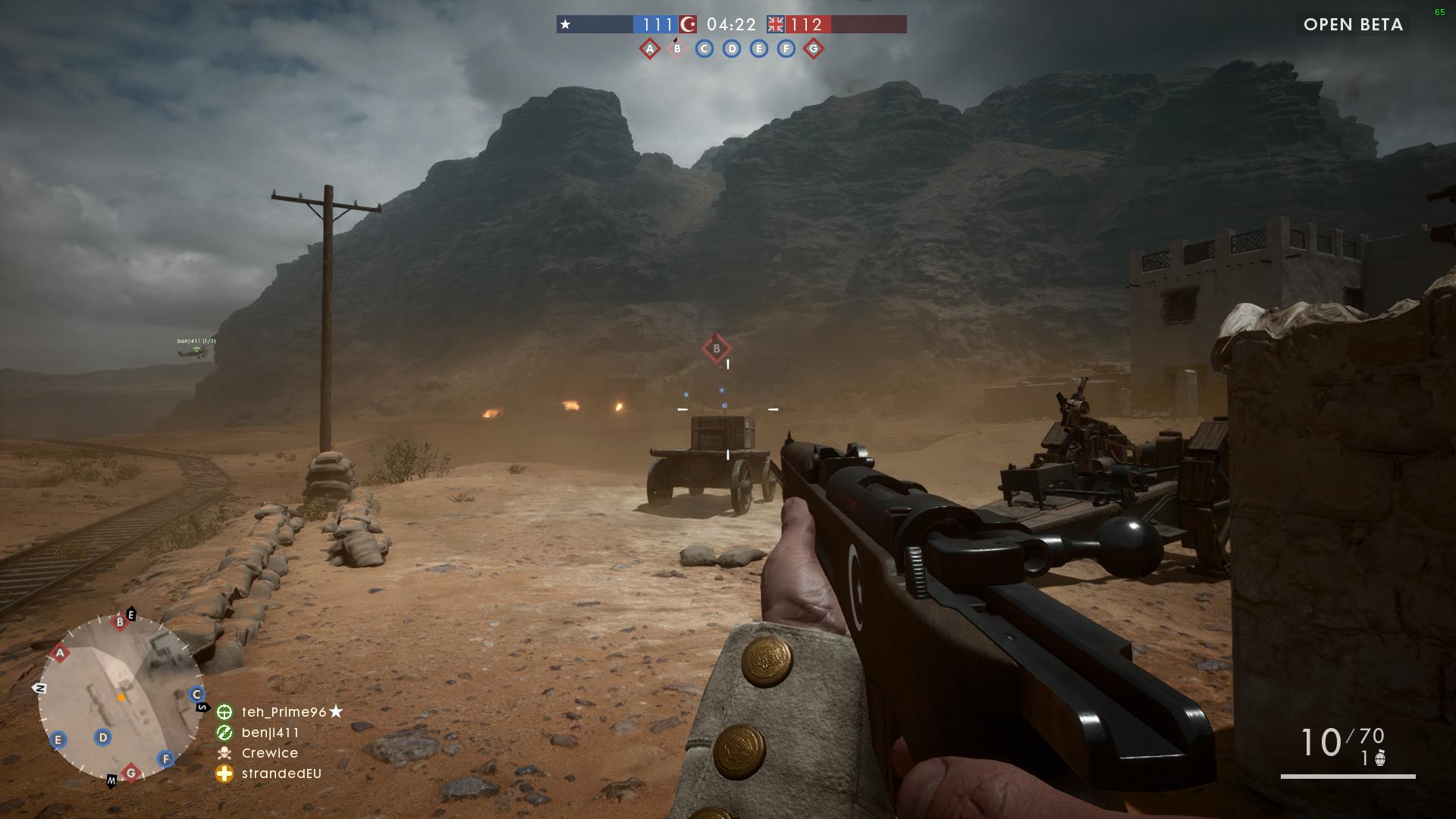 Battlefield 1 open beta код активации - 0