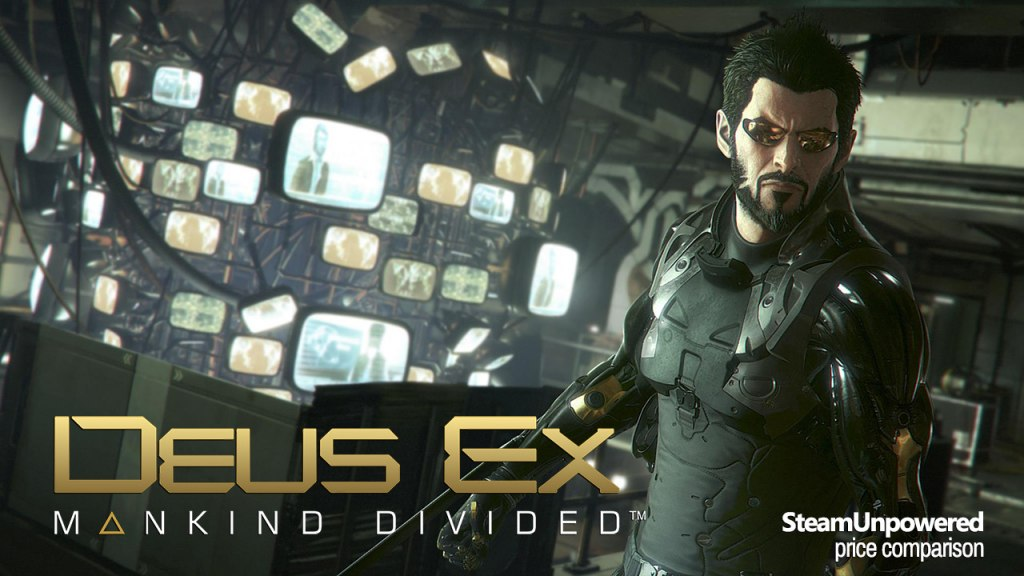 Deus Ex Mankind Divided SteamUnpowered Price Comparison Deal Cheaper Than Steam