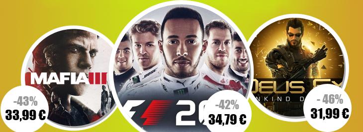 Game Laden Deals Mafia 3 F1 2016