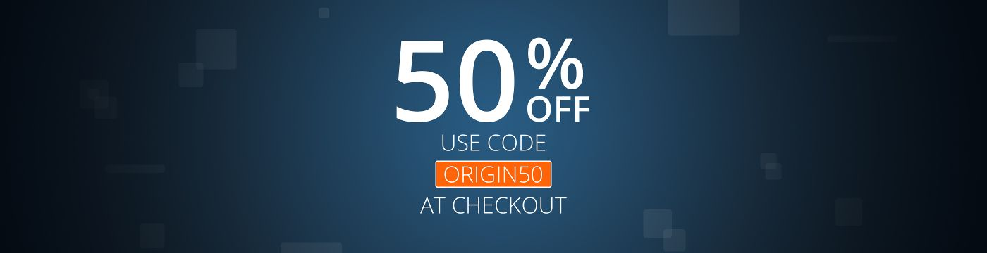Origin: 50% off any game, use the special code now ...