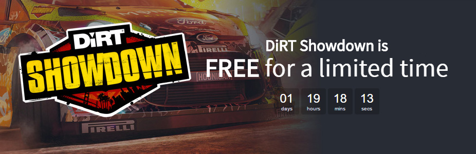 DiRT Showdown FREE Steam key! | SteamUnpowered