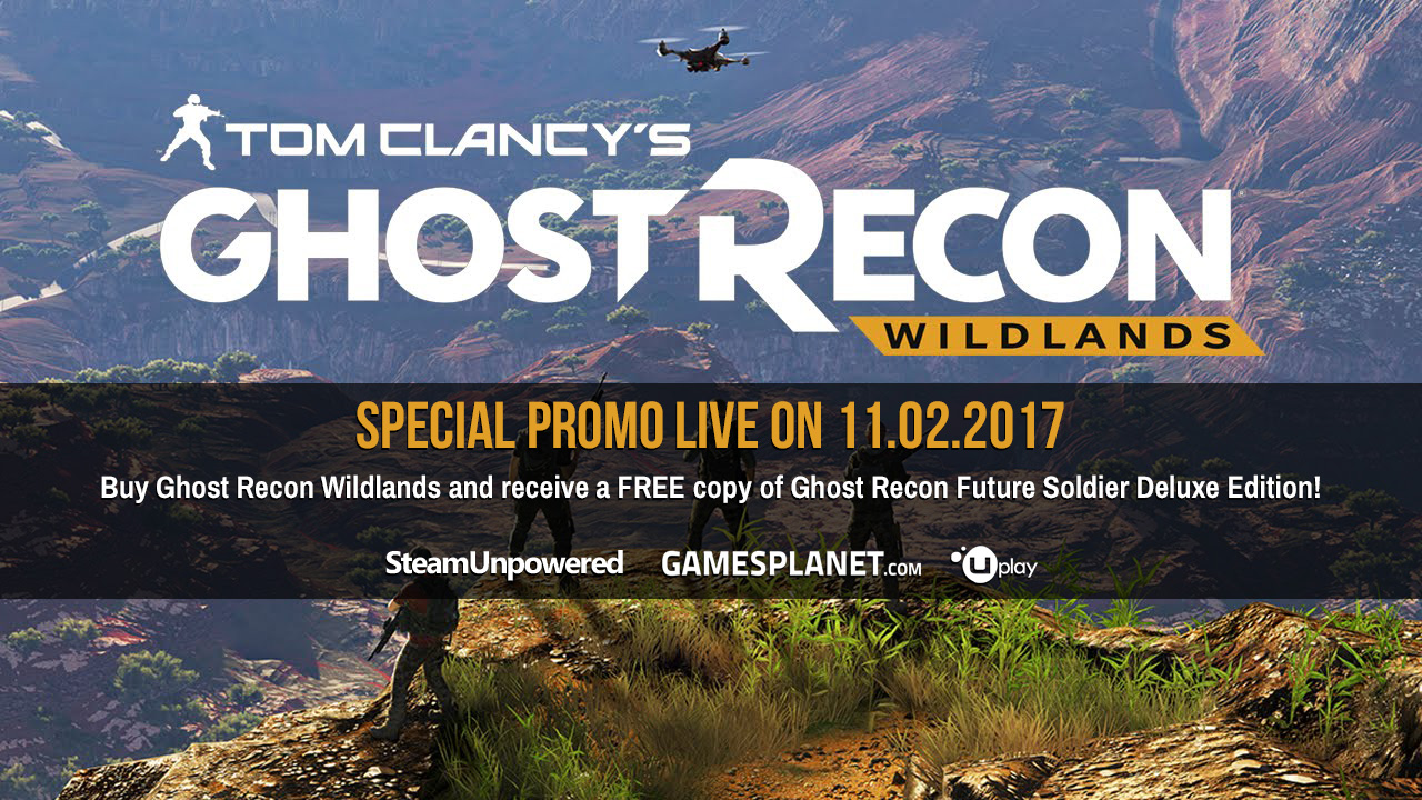 Cheap Key GamesPlanet Ghost Recon Wildlands